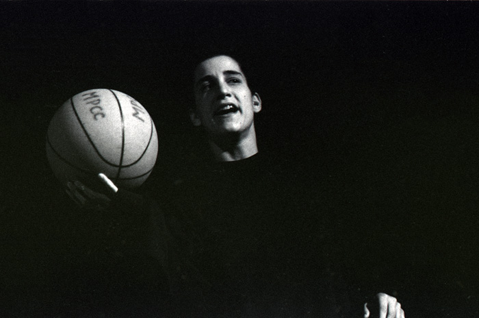 1991_06_06_Performance_Chicago_Series_untitled_at_Pitt_Gallery_Dani_K_holding_basketball