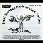 First Nations Performance Series logo - 1992