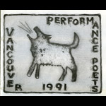 Vancouver Performance Poets Series logo - 1991